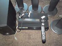 Samsung HT-TZ225 5.1 ch Home Cinema System (Black)