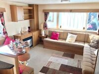 Sale now on at Newquay Holiday Park Cornwall. Special offers this weekend. Static caravan for sale