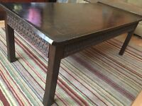 Wooden Coffee Table from The Pier