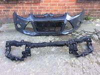 Ford Focus 2011 2012 2013 2014 genuine front bumper + panel for sale