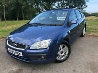 2005 55 FORD FOCUS 1.6 GHIA 115 5 DOOR HATCHBACK - *JULY 2019 M.O.T* - GOOD EXAMPLE!!