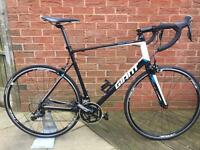 Giant defy 1, shimano 105,22 speed, size xl