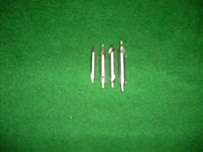 HSS  Zentrierbohrer  DIN 333 Form A   4-tlg. Satz    1,0   1,25   1,6   2,0 mm