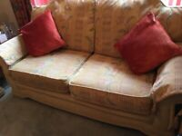 Settee ,Armchair ,and pouffe