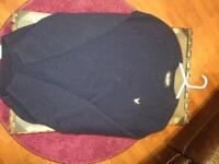 Lyle and Scott jumper navy small