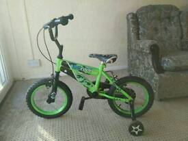 Kids sportz cycle with stabilizer.very good condition.well maintained..