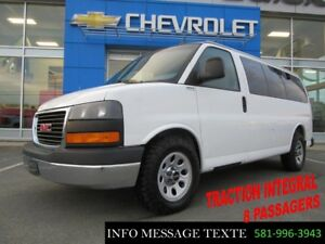 2014 CHEVROLET EXPRESS PASSENGER 1500 AWD AWD 8 PLACES, TRACTION