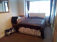 Spacious 1 double bed flat with separate living room & kitchen very clean & tidy