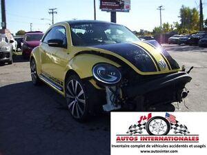 2014 Volkswagen Beetle SPORTLINE GSR TURBO 2.0T MAG SROOF SPOILE