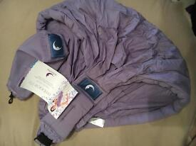 Babasling baby carrier purple