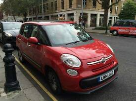 Fiat 500L red as new / 4000 miles