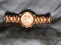 Michael Korrs rose gold watch