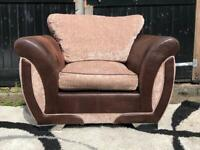 Dfs leather chair for Sale | Sofas, Couches & Armchairs
