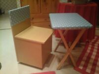 A Childs CHAIR and Table with a difference