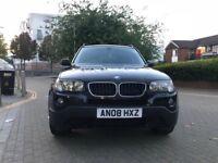 BMW X3 2.0 20d SE 5dr£4750 ono CAT D 2008 (08 reg), SUV 59000 miles