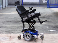 Jive M 6mph Electric Seat Lift, Tilt, Led Lights. FREE Delivery. Mint Condition. Powered Wheelchair.