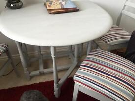 Ercol oval table - drop leaf