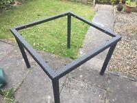 Rattan table frame NO glass