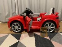 Audi TT RS Quattro electric car