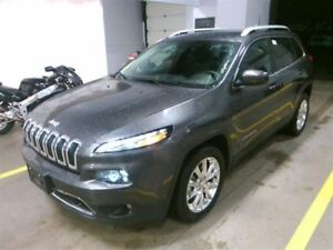2017 Jeep Cherokee Limited / NAVIGATION / LEATHER