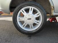 Ford Fiesta alloy wheels - used