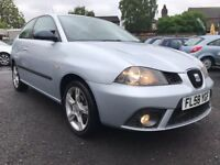 2008 SEAT IBIZA 1.4 SPORTRIDER *** ONLY 49000 MILES + FULL SERVICE HISTORY + 8 MONTHS MOT ***