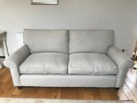 Laura Ashley large Two Seater Abingdon Sofa in Eldon Sable