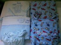 2 sets of cot bedding
