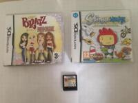3 Nintendo ds games fully working