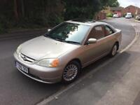 HONDA CIVIC COUPE ONE PREVIOUS OWNER FULL SERVICE HISTORY
