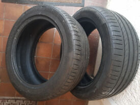 excellent Tyres CONTINENTAL 245/45/17 (6mm!!!)