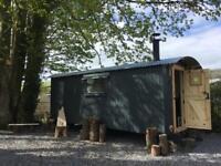 Luxury Self Catering Shepherd's Hut