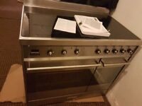 Smeg 90cm induction cooker