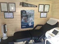 Private laser tattoo removal studio