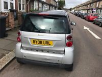 Smart Fortwo Passion 71 Auto with long M.O.T and Tax Low Millage