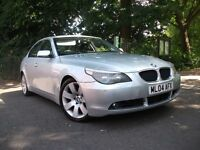 BMW 5 Series 3.0 530d SE 4dr 530 TOP SPEC WITH TOP SPEED CA 2005 (04 reg), Saloon
