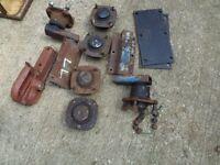 job lot of trailer parts