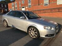 AUDI A4 S LINE TDI HPI CLEAR PX WELCOME