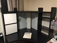 IKEA MICKE Corner Desk £85 ONLY , Very Good Condition!