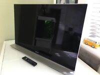 """Sony 40"""" LED 1080p Full HD 3D TV With 2X 3D Glasses"""
