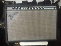 Vintage Fender Deluxe Reverb Amplifier 1978