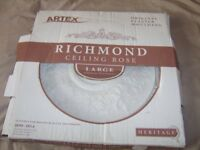 plaster ceiling rose large size 530mm D brandnew