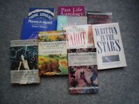 10 Astrology reference books.