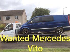 Mercedes Benz Vito sprinter wanted