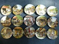 15 Old Country Craft plates by Royal Doulton