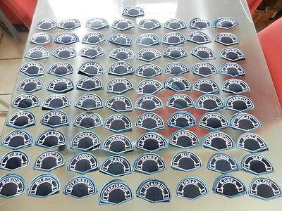 Polizeiabzeichen Türkei  --  Ärmelabzeichen aller 81 Provinzen  --  KOMPLETT  --