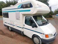 Ford Transit motorhome 4/5 birth, campervan
