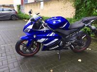 Blue Yamaha Yzf R125 2012 HPI CLEAR !