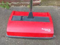 2 X Ewbank DeepSweep Light Weight Manual Carpet Cleaner Sweeper Red