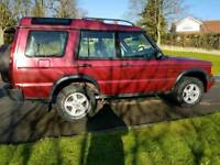 2001 Land Rover Discovery TD5 - 7 Seater Manual 4WD - MOT July 2018